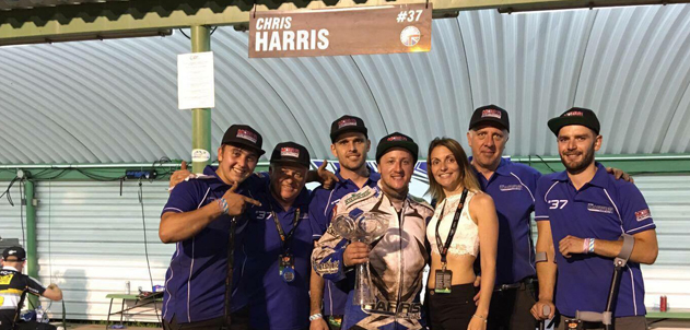 Magnificent Harris 3rd In Prague Grand Prix